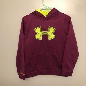 Under Armour storm hoodie maroon